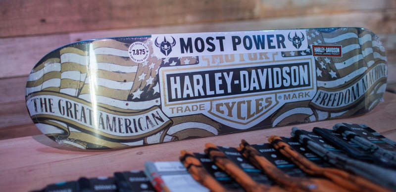 Harley Davidson activation produced by BeCore Experiential Marketing Agency in Los Angeles, California.