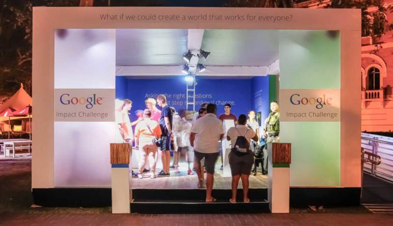 Google Impact Challenge - Experiential Marketing Campaign for Google