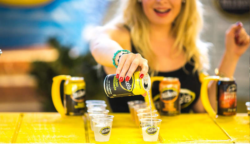 Mike's Harder Lemonade - Experiential Activation - Product Sampling