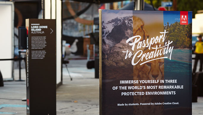 Passport to Creativity - Los Angeles Arts District - Experiential marketing agency - BeCore